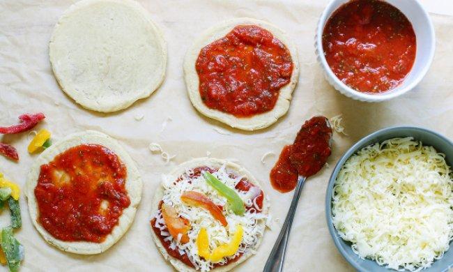 Ingredientes y recetas de pizzas caseras