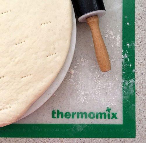 Receta de masa pizza en Thermomix